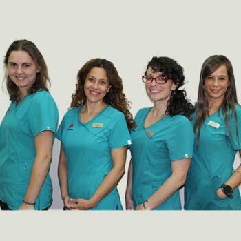 Mujeres fisioterapeutas